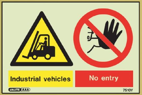 (7510) Jalite Industrial Vehicles / No entry